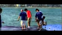 Tennis in Ocean