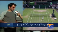 Roger Federer wishes best of luck to Pakistan Cricket Team for the World Cup T20, 2014