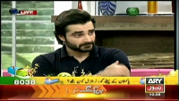 Hamza Ali Abbasi mimics Imran Khan and Pervez Musharraf