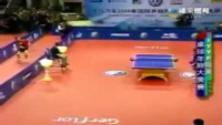 Flying table tennis
