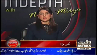 Indepth with Nadia Mirza 18th March 2014 Tuesday at Waqt News