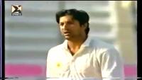 Wasim Akram 2nd Test Hat Trick Vs Sri Lanka