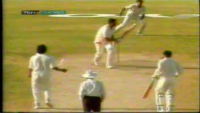 Wasim Akram Hat Trick Against Australia in 1990