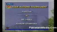 Shahid Afridi Fastest Century in 37 Balls vs Sri Lanka
