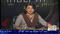 Indepth with Nadia Mirza 20th March 2014 Thursday at Waqt News