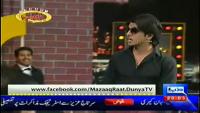 Mazaaq Raat 24th March 2014 by Nauman Ijaz on Monday at Dunya News