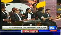 Mazaaq Raat 25th March 2014 by Nauman Ijaz on Tuesday at Dunya News