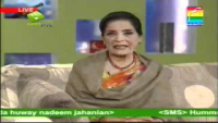 Zubeida Appa - is Very dissapointed!!