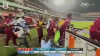 Chris Gayle's Dance & West Indies Celebration Against Australia