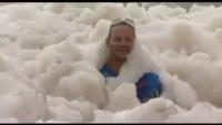 My childhood dream Sea Foam Blankets