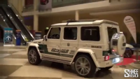 Police Supercars in Action At Dubai