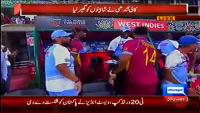 Happy Face Of Saqlain Mushtaq After Pakistan Defeat World T20 2014
