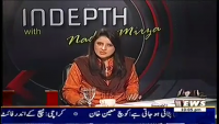 Indepth with Nadia Mirza 2nd April 2014 Wednesday at Waqt News