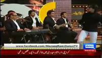 Mazaaq Raat 2nd April 2014 by Nauman Ijaz on Wednesday at Dunya News