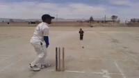 Future Cricketer - Very Talented Boy