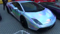 Beautiful Colorful Lamborghini