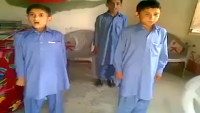 Kids Inspired with Pakistan Army