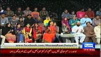 Mazaaq Raat 15th April 2014 by Nauman Ijaz on Tuesday at Dunya News