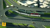 Lahore Azadi Chowk Construction 3D Video