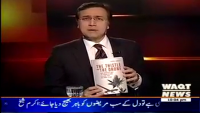 Tonight With Moeed Pirzada 24th April 2014 Thursday at Waqt News