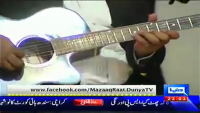 Mazaaq Raat 28th April 2014 by Nauman Ijaz on Monday at Dunya News