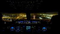 Dubai - Beautiful Night Landing