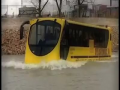 Bus Roaming Around Water