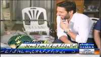 Shahid Afridi Meets With His Biggest Fan Farhan