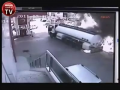 Brave Man drives burning Petrol Tanker away from Neighbourhood