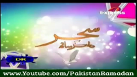 Pakistan Ramzan 30th June 2014