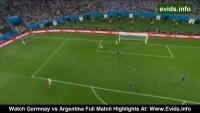 World Cup Winning Goal by Mario Gotze