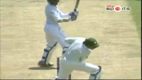 Saeed Ajmal Hit Ball to Sarfraz Ahmed And Injured to Sarfaraz