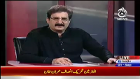 Bolta Pakistan 1st September 2014 by Nusrat Javed and Mushtaq Minhas on Monday at Ajj News TV