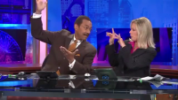 What News Anchor Do During Ad Breaks