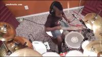 7 Year Old Drummer