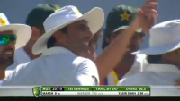 Magic Delivery By Yasir Shah Against DA Warner Australia