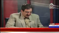 Bolta Pakistan 27th October 2014 by Nusrat Javed and Mushtaq Minhas on Monday at Ajj News TV