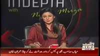 Indepth with Nadia Mirza 27th October 2014 Monday at Waqt News