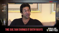 Wasim Akram Talking About His Two Dream Deliveries In 1992