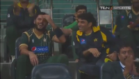 Most Funny Moment Misbah vs Afridi