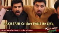 Pakistani Cricket Fans Be Like