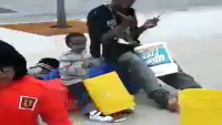Homeless Father Has Talented Son