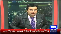 On The Front 12th January 2015 by Kamran Shahid on Monday at Dunya News