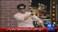 Mazaaq Raat 12th January 2015 by Nauman Ijaz on Monday at Dunya News