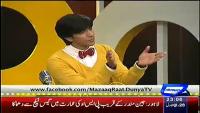 Mazaaq Raat 19th January 2015 by Nauman Ijaz on Monday at Dunya News