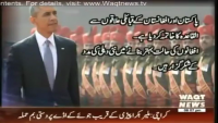 8PM With Fareeha Idrees 26th January 2015 by Fareeha Idrees on Monday at Waqt News