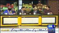 Mazaaq Raat 27th January 2015 by Nauman Ijaz on Tuesday at Dunya News
