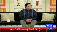 Hasb-e-Haal 31st January 2015 by Junaid Saleem,Sohail Ahmed and Najia on Saturday at Dunya News