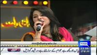 Mazaaq Raat 9th February 2015 by Nauman Ijaz on Monday at Dunya News