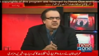 Live With Dr Shahid Masood 14th February 2015 on Saturday at News One TV